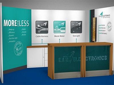 Messekonzept E.I.S. Electronics