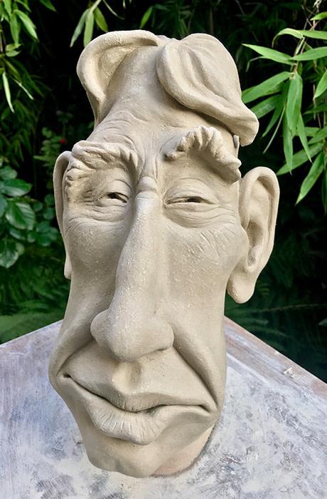 Skulptur von Frank Brunnee, Inhaber der Brunnee Marketing Bremen.