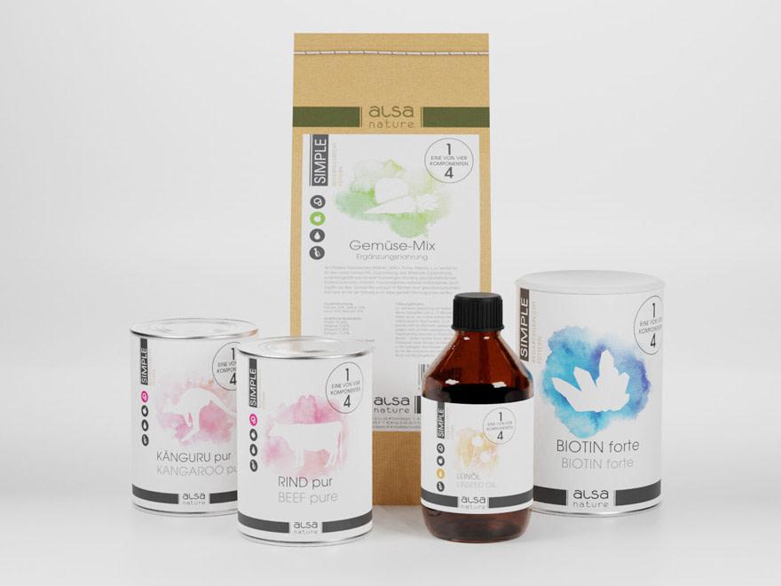 Brunnee Werbeagentur - Design Packaging - Verpackungslayout Petfood von alsa