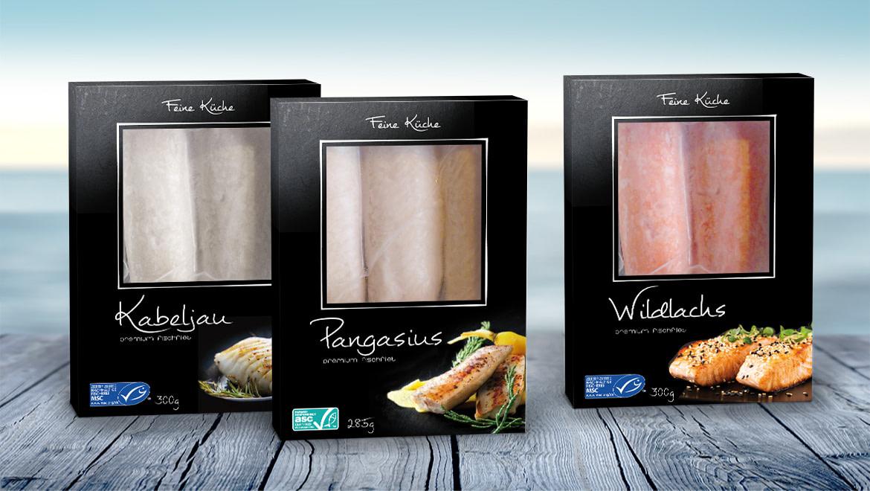 Copack Tiefkühlfisch Verpackung