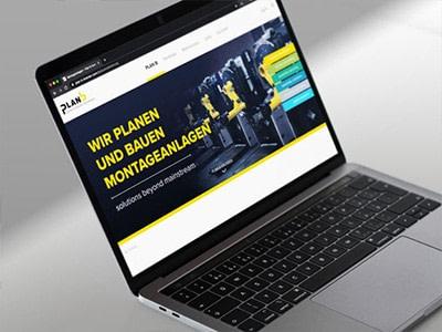 Webauftritt Plan b