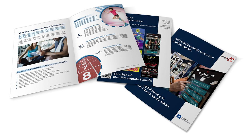 Broschüre für HANSEFIT Partner